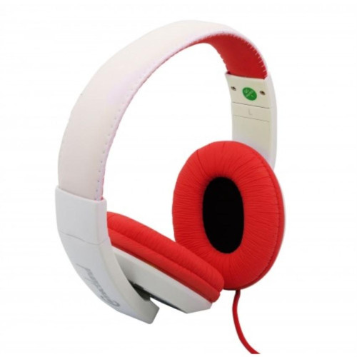 Fashionable Stereo Headset, Red Color, Adjustable Size