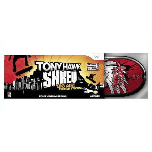 TONY HAWK SHRED EXCLUSIVE BIRDHOUSE BOARD Wii TOYS R US LIMITED EDITION