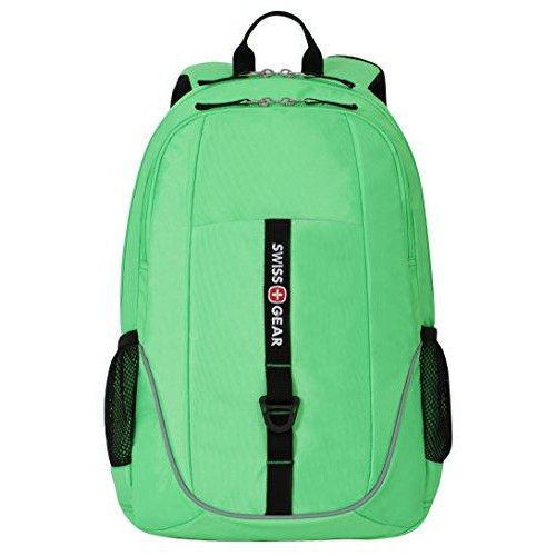 Swissgear Sa6639 Neon Green Computer Backpack - Fits Most 15 Inch Laptops And Tablets