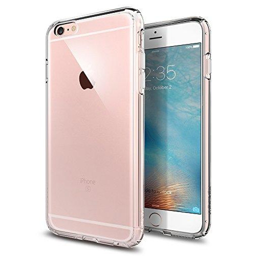 Spigen Ultra Hybrid Iphone 6S Plus Case With Air Cushion Technology And Hybrid Drop Protection For Iphone 6S Plus / Iphone 6 Plus - Crystal Clear