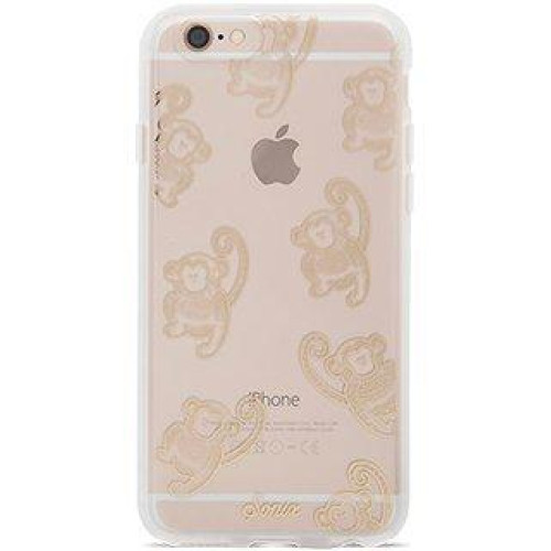 Sonix Monkey Clear/Gold Case For Iphone 6 Plus (55) / Iphone 6S Plus (55) - In Retail Packaging