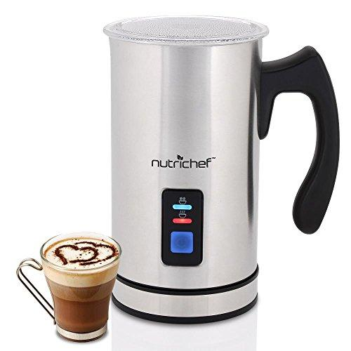 2-in-1 Electric Milk Frother & Milk Warmer