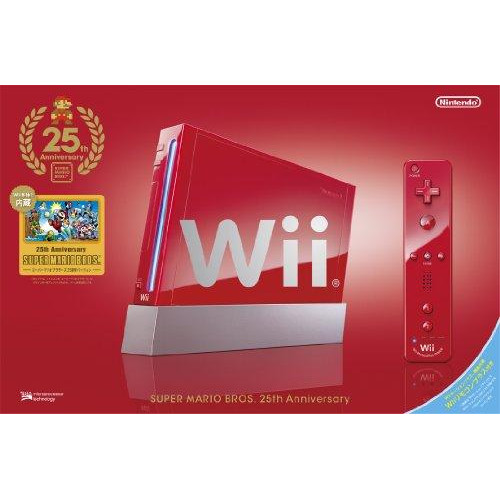 "Wii(25Th Anniversary Super Mario Specification) (""Wii Remote Plus"" Included) (Rvl-S-Raav)[Japan Import]"