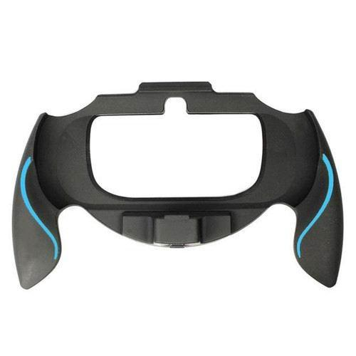Ostent Durable Joypad Bracket Holder Case Hand Grip Handle Compatible For Sony Psv Ps Vita Color Blue