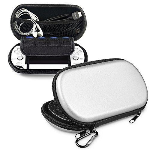 Insten Eva Case Compatible With Sony Playstation Vita, Silver