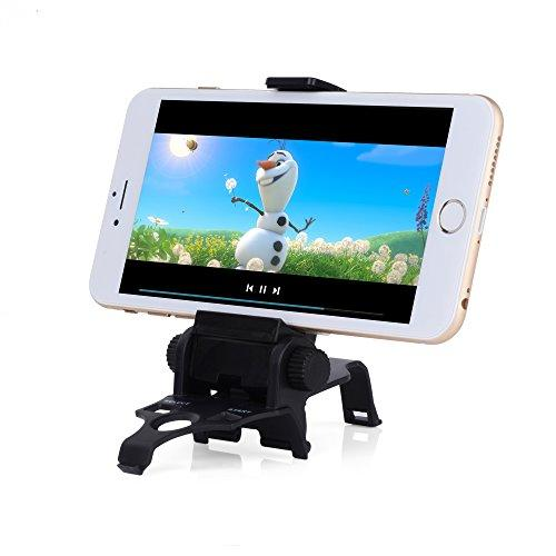 Ps3 Android Phone Clamp, Megadream 180 Degree Adjustable Game Clip Mount Stand Holder For Sony Playstation 3 Controller Samsung Galaxy S8+ S8 S7Edge S7 S6 S5 Note 8 Sony Xperia Htc Lg - Max 6 Inch