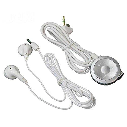 Ostent Stereo Earphones Headphone Remote Control Compatible For Sony Psp 1000 Console