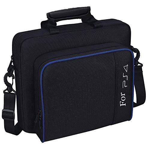 Travel Carrying Case For Ps4, Popmall Hard Multifunctional Travel Storage Carry Case Protective Shoulder Bag For Playstation4 Ps4 Slim System Console Accessories