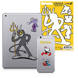 Controller Gear Cuphead - Character Tech Decal Pack - The Devil - Xbox 360; Xbox