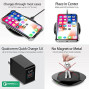 Qi Wireless Universal Charger Black