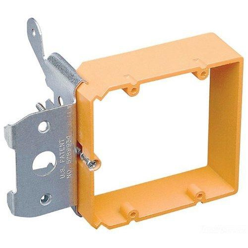 2 Gang Low Voltage Adjustable Bracket