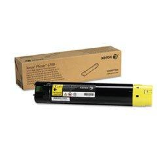 XEROX BR PHASER 6700 1-HI YLD YELLOW TONER, 12k yield