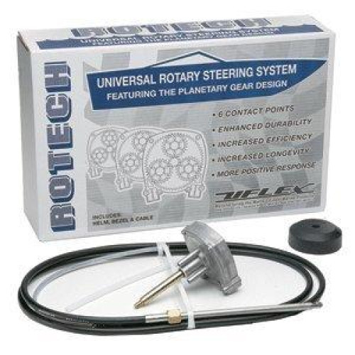 UFlex Rotech 19' Rotary Steering Package - Cable, Bezel, Helm