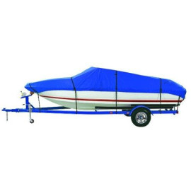 """Dallas Manufacturing Co. Polyester Boat Cover B 14'-16' V-Hull Tri-Hull Runabouts & Alum. Bass Boats - Beam Width to 90"""""""
