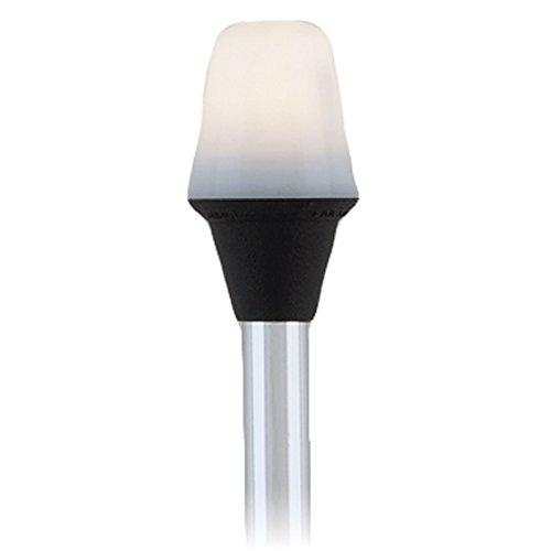 """Attwood Frosted Globe All-Around Pole Light w/2-Pin Locking Collar Pole - 12V - 42"""""""