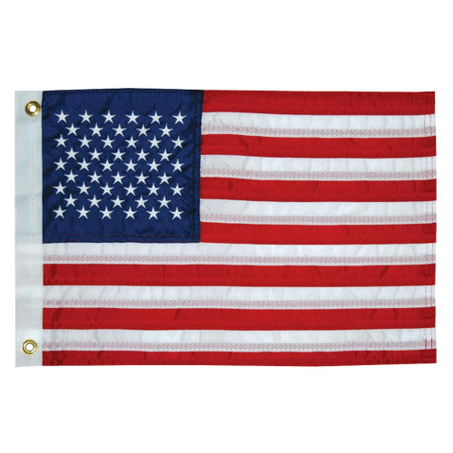 """Taylor Made 16"""" x 24"""" Deluxe Sewn 50 Star Flag"""
