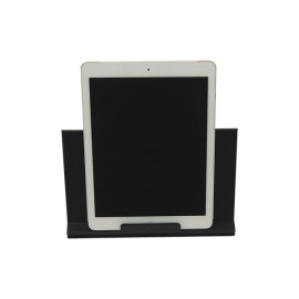 Classic Leather Tablet Stand- Black