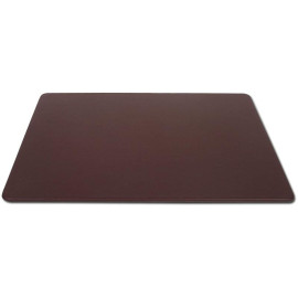 """Chocolate BrownLeatherette 20"""" x 16"""" Conference Table Pad"""
