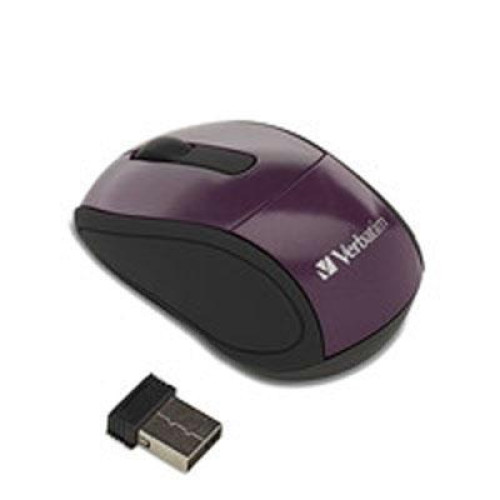 Wireless Mini Travel Mouse Pur