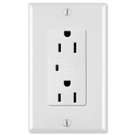 On-Q/Legrand Duplex Outlet Kit with Surge Protection