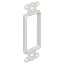 Arlington The SCOOP Pass Through Cable Access Hood, 1-Gang, White
