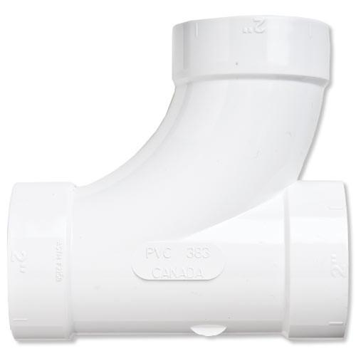 NuTone Central Vacuum 90 Degree T Fitting
