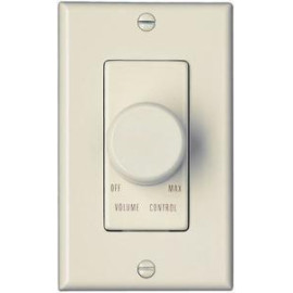 OEM Systems Pro-Wire Rotary Volume Control, 100W, Ivory