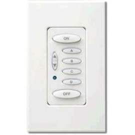 Keypad Retainer Ring, 6-Button, Ivory