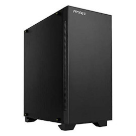 Antec Performance Series P110 Silent Mid-Tower PC Computer Case with Sound Dampening Side Panels, 8 Drive Bays, Quiet and Flexible Air/Liquid Cooling, 120mm Fans x 2 Pre-Installed for ATX/M-ATX/ITX