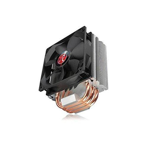 RAIJINTEK Themis Black 120mm CPU Cooler for Intel LGA 201x/1366/115x/775 & AMD Socket FM2+/FM2/FM1/AM3+/AM3/AM2+/AM2