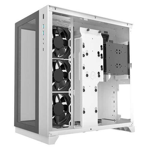 Lian Li PC-O11DW 011 Dynamic Tempered Glass on The Front Chassis Body SECC ATX Mid Tower Gaming Computer Case White