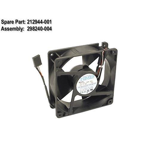 Compaq - PRL ML350/ML370 120MM REAR FAN ASSY - 212944-001