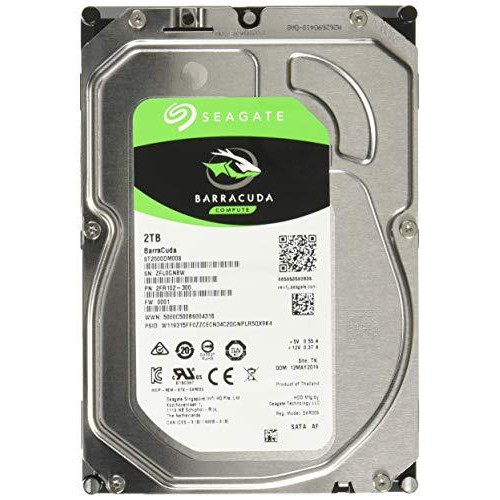 "Seagate Barracuda ST2000DM008 2 TB 3.5"" Internal Hard Drive - SATA"