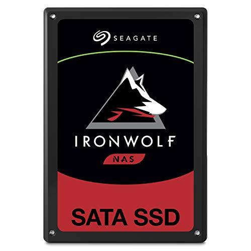 Seagate IronWolf 110 980GB NAS SSD Internal Solid State Drive - 2.5 inch SATA for Multibay RAID System Network Attached Storage, 2 Year Data Recovery (ZA960NM10001)