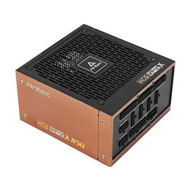 Antec HCG850 Extreme Power Supply 850 Watts 80 Plus Gold PSU with 135mm Silent FDB Fan, Full Modular, Japanese Capacitors, Active PFC, 10 Years Support, ATX12V 2.4