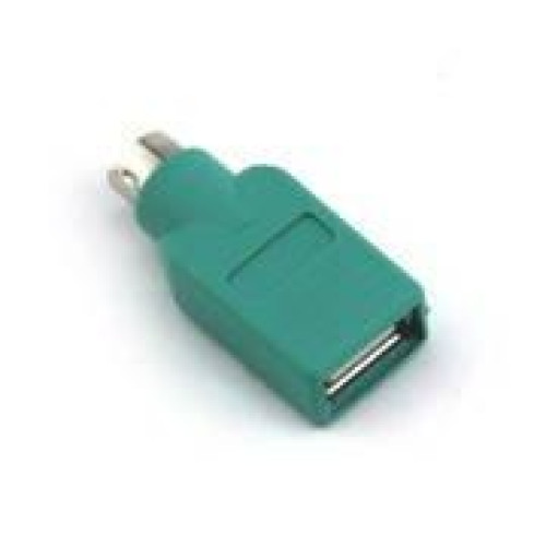 Box (Pack of 200) of VCOM CA451 USB 2.0 Female to PS2 Male Adapter (Green)