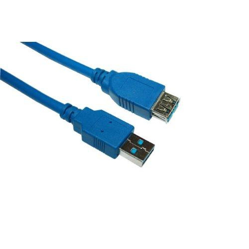Box (Pack of 70) of VCOM CU302-6FEET 6ft USB 3.0 Type A Male to Type A Female Extension Cable
