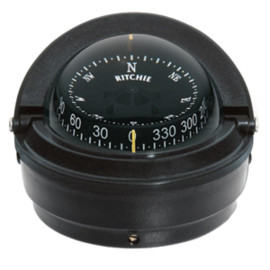 Ritchie S-87 Voyager Compass - Surface Mount - Black