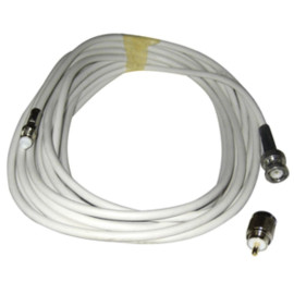 Comrod Vhf Rg58 Cable W/Bnc And Pl259 Connectors - 20M