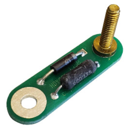 Faria Resistor 24V In 12V Out Adapter - 120 Ohm