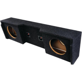 """Atrend A152-12Cp Bbox Series Subwoofer Box For Gm Vehicles (12"""" Dual Downfire)"""