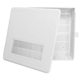 Datacomm Electronics 80-1500-Br 15-Inch Plastic Enclosure Box With Brush Cover