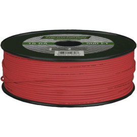 Install Bay Pwrd18500 18-Gauge Primary Wire, 500Ft (Red)