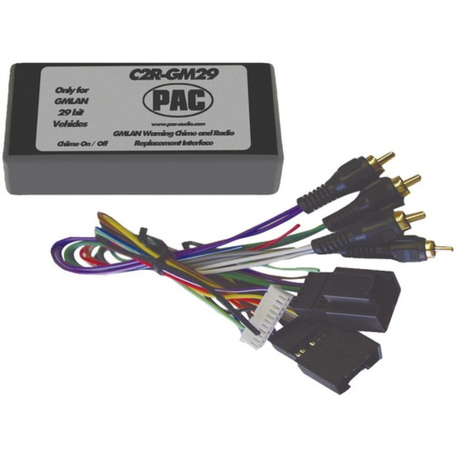 Pac C2R-Gm29 Radio Replacement Interface (29-Bit Interface For 2007 Gm Vehicles With No Onstar System)