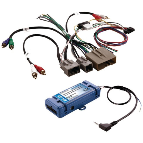 Pac Rp4-Fd11 All-In-One Radio Replacement And Steering Wheel Control Interface (For Select Ford Vehicles With Canbus)