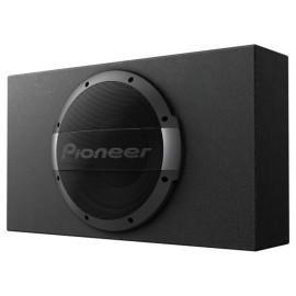Pioneer Ts-Wx1010La 10-Inch Shallow-Mount Sealed-Enclosure Powered Subwoofer System