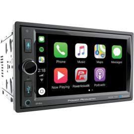 """Power Acoustik Cp-650 6.5"""" Double-Din In-Dash Digital Media Receiver With Bluetooth And Apple Carplay"""