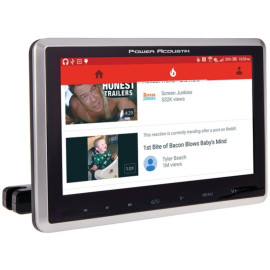 """Power Acoustik Phd-101 10.3"""" Universal Headrest Monitor With Dvd Player, Ir And Fm Transmitters And Android Phonelink"""