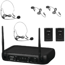Pyle Pro Pdwm2145 Vhf Fixed-Frequency Wireless Microphone System