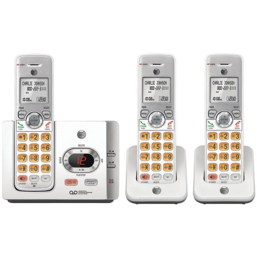 Dect 6.0 Cordless Answering System With Caller Id/Call Waiting (3 Handsets)
